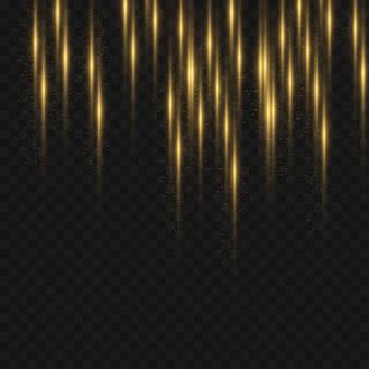 Funkelndes magisches licht