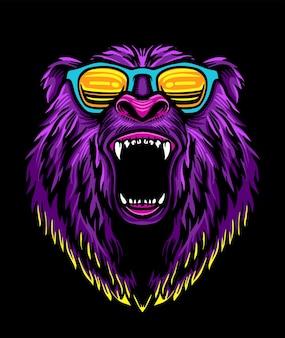 Funky bear sonnenbrille