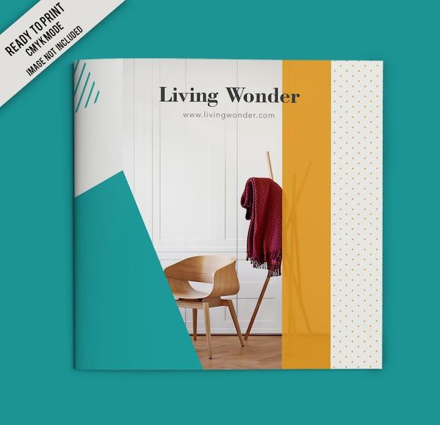 Furniture square broschürencover