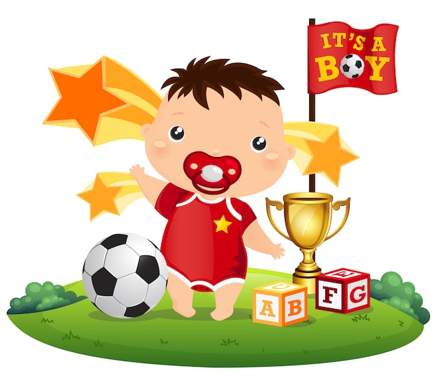 Fußball-baby