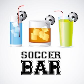 Fußball-bar