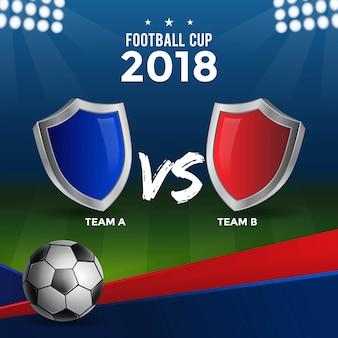 Fußball-cup-design