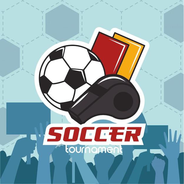 Fußball fußball sport mit ballon