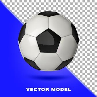 Fußball fußball sportgeräte 3d realistisch