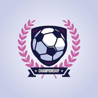 Fußball-hintergrund-design