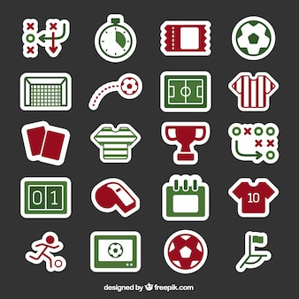Fußball-icons