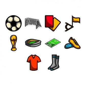Fußball-ikonen-sammlung