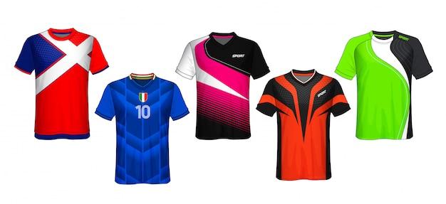 Fußball jersey template.sport t-shirt design.