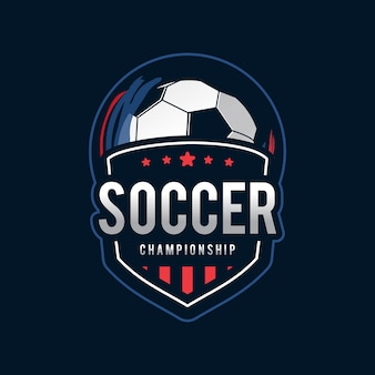 Fußball logo, american logo sport