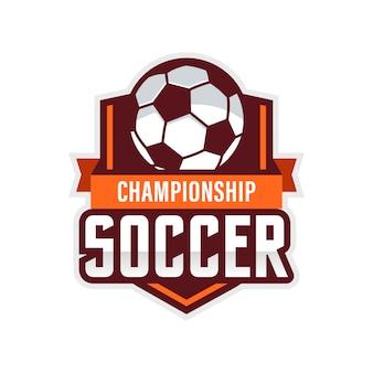 Fußball logo amerikanisches logo sport