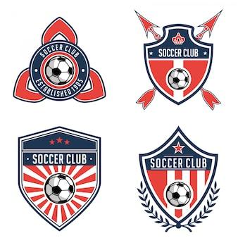 Fußball-logo-sammlungen