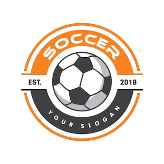 Fußball-logo, sport-logo, fußball-logo