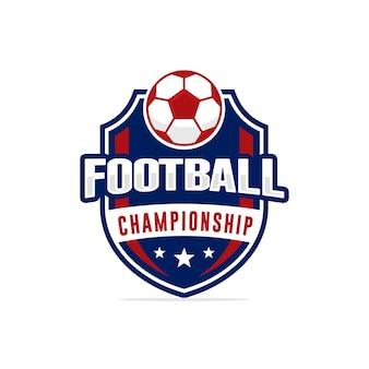 Fußball-meisterschaft-logo-vektor