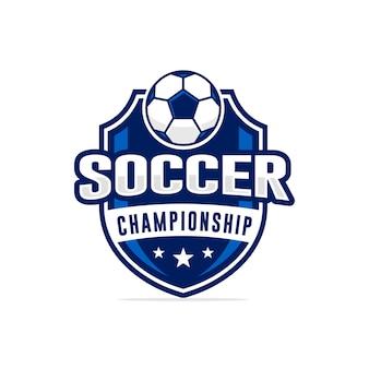 Fußball-meisterschaft logo