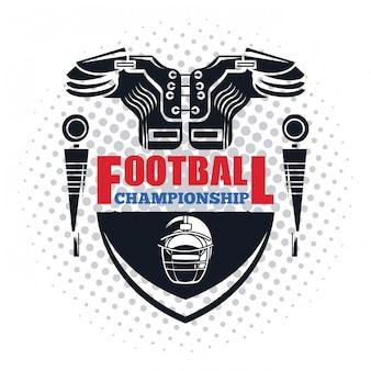Fußball-meisterschaft-symbol