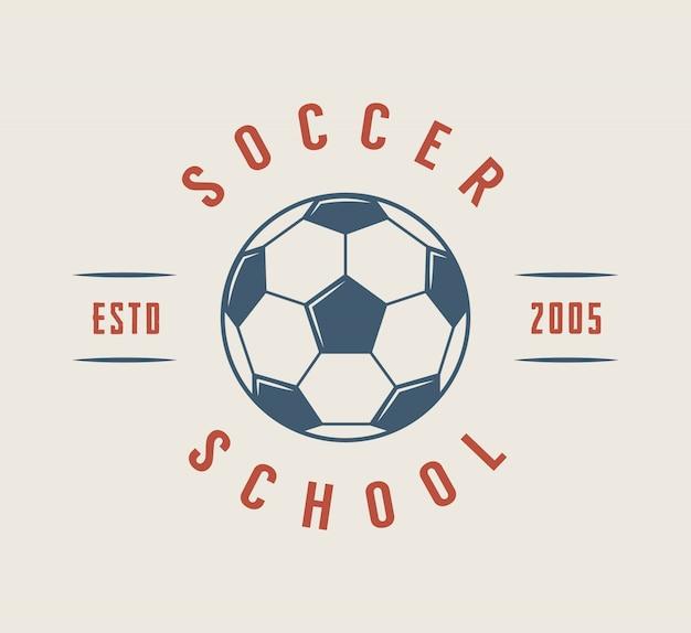 Fußball- oder fußballlogo