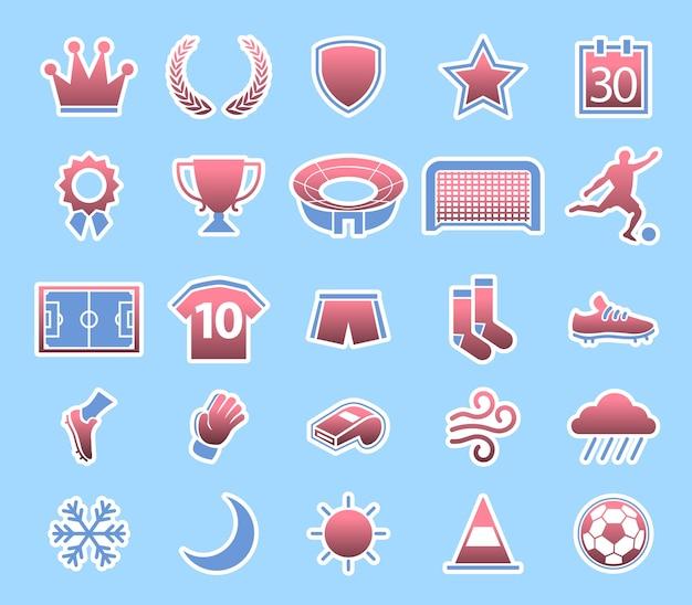 Fußball-spiel-zustands-ikone