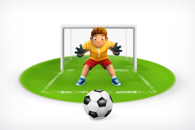 Fußball, spieler, elfmeter