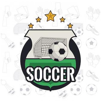 Fußball-spielkarte