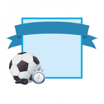 Fußball-Sport-Cartoon