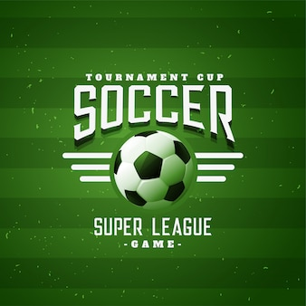Fußball sport fußball liga spiel hintergrund banner