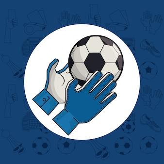 Fußball-sportspiel