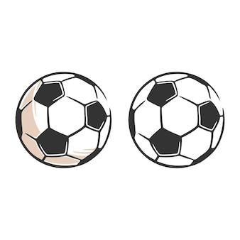 Fußball-symbol einfache schwarze art