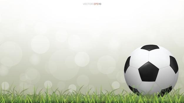 Fußball themenorientierte hintergrundillustration