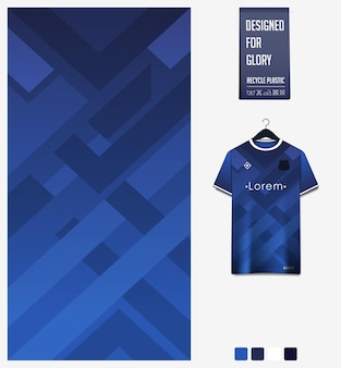 Fußball trikot muster design