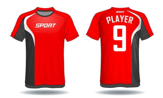 Fußball trikot sport t-shirt.