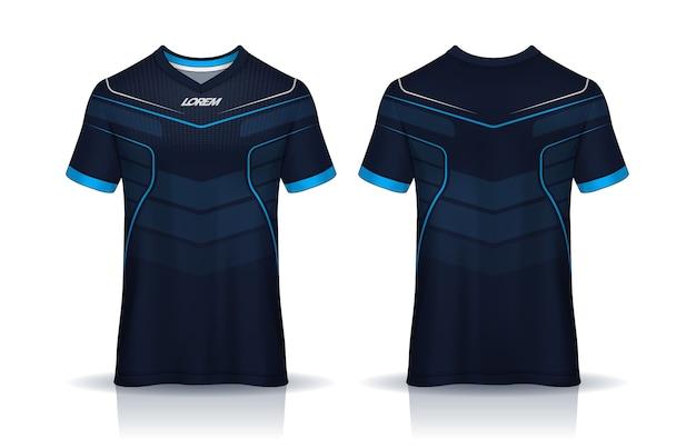 Fußball trikot t-shirt design