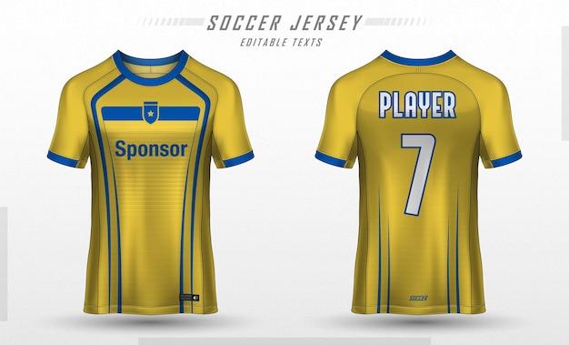 Fußball trikot vorlage sport t-shirt design