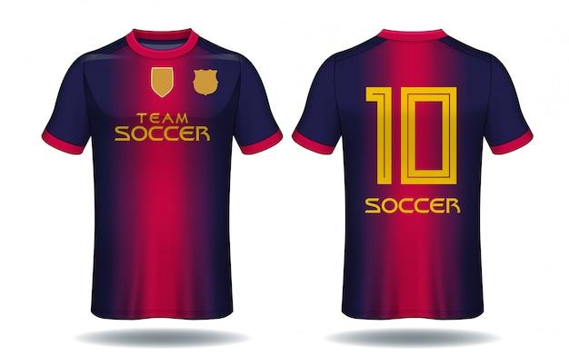 Fußball trikot vorlage