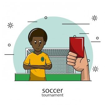 Fußball-turnier-konzept