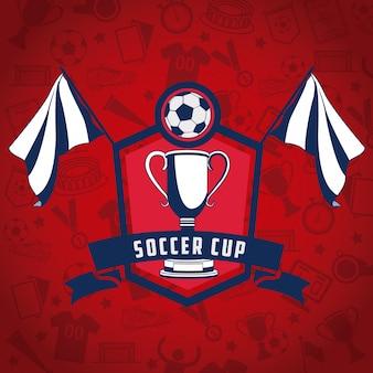 Fußball-WM Russland Flagge Farben