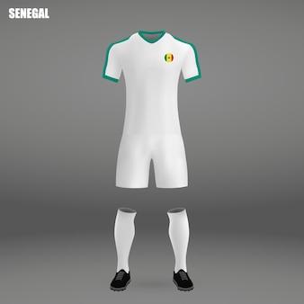 Fußballausrüstung von senegal, t-shirt schablone für fußball jersey