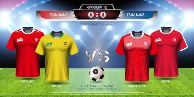 Fußballcup 2018 teamgruppe e