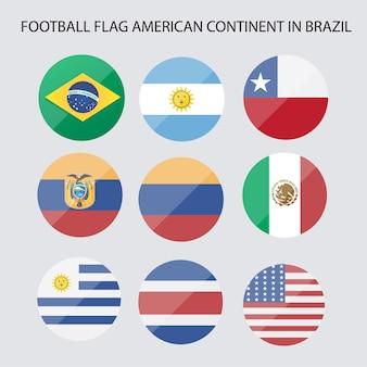 Fußballfahne amerikanisch