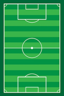 Fußballfußball stadiun feldvektor