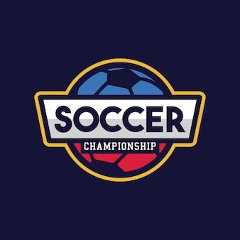 Fußballmeisterschaft, american logo sport