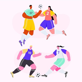 Fußballspieler-abbildung