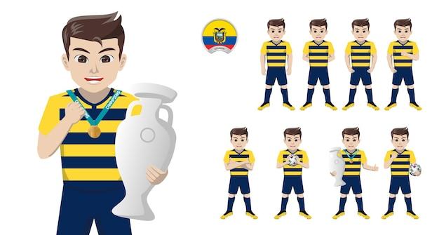 Fußballspieler der ecuadorianischen nationalmannschaft