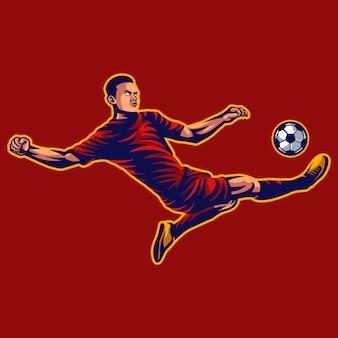 Fußballspieler vektor