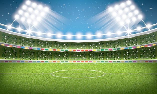 Fußballstadion. fußballarena.