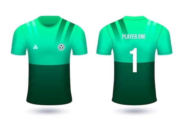 Fußballtrikots für spieler mit zahlen