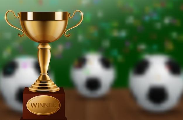 Fußballweltmeisterschafts-cuphintergrundfußball