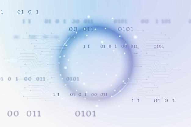 Futuristische globale netzwerktechnologie