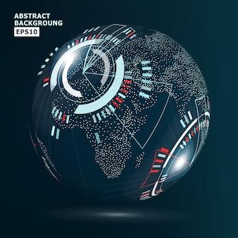 Futuristische globalisierungsschnittstelle
