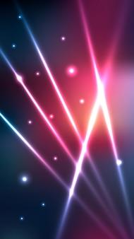 Futuristische neonlichter verwischten bewegliche tapete