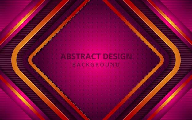 Futuristischer abstrakter geometrischer quadratischer hintergrund